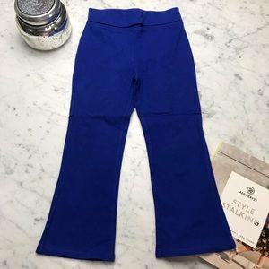 Okie Dokie Royal Blue Foldover Leggings Pants 4T